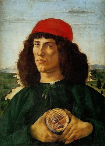 6 Sandro Botticelli Portrait of a Man