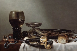 7 Willem Claesz Heda Roemer and Clock