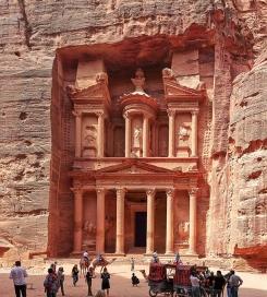 6 Khazneh tomb in Petra
